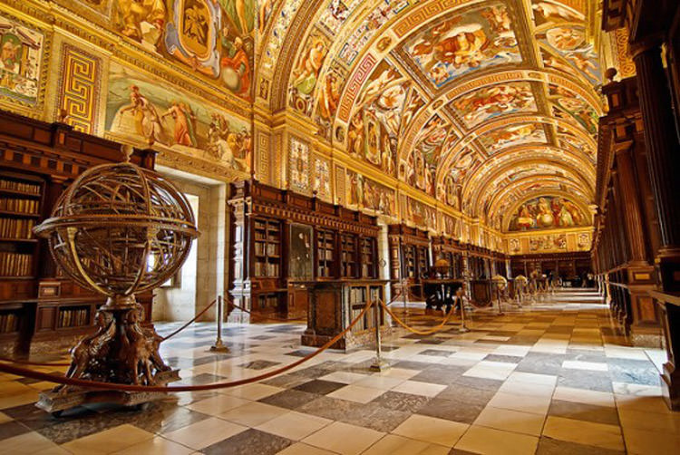 The Library of El Escorial