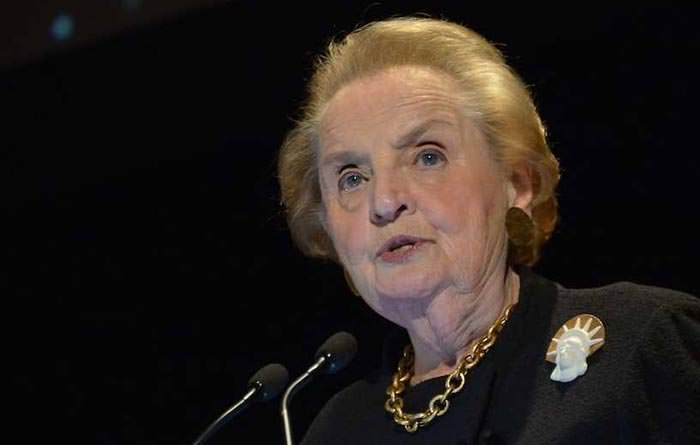 madeline albright sold bras