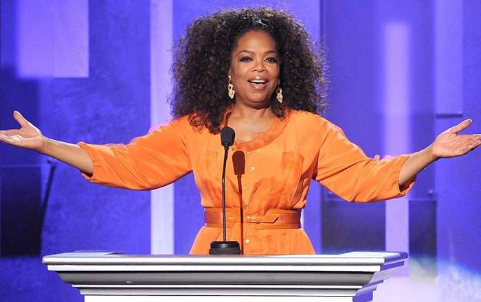 oprah winfrey worked at a corner grocery store