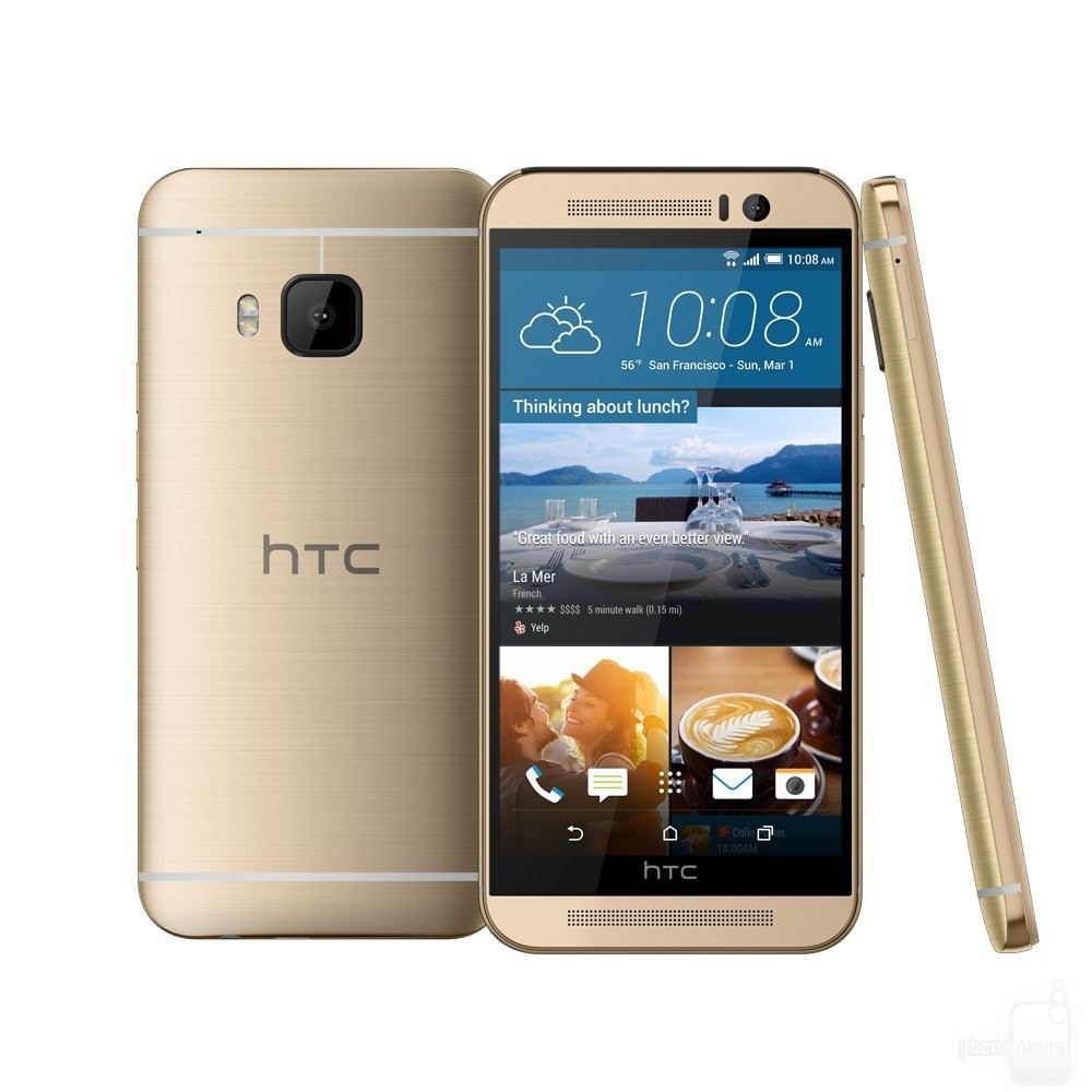 Gold HTC One M9 1