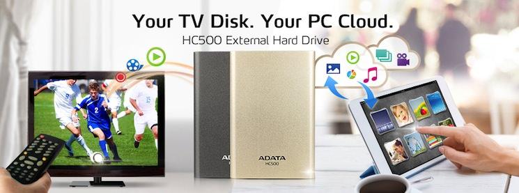 هارددیسک اکسترنال ADATA مدل HC500