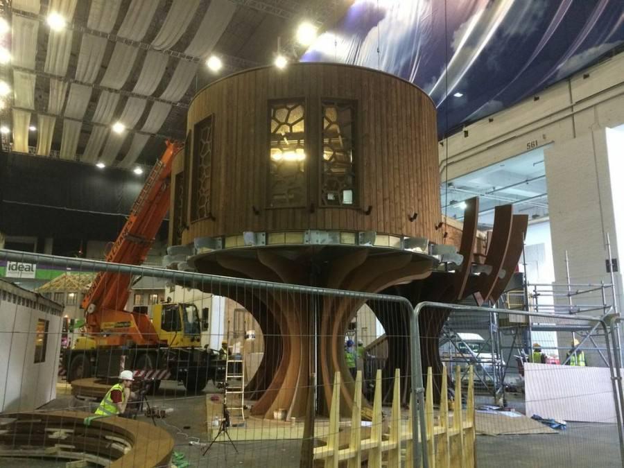اولین خانه درختی کامل جهان به نام خانه درختی آرامش
