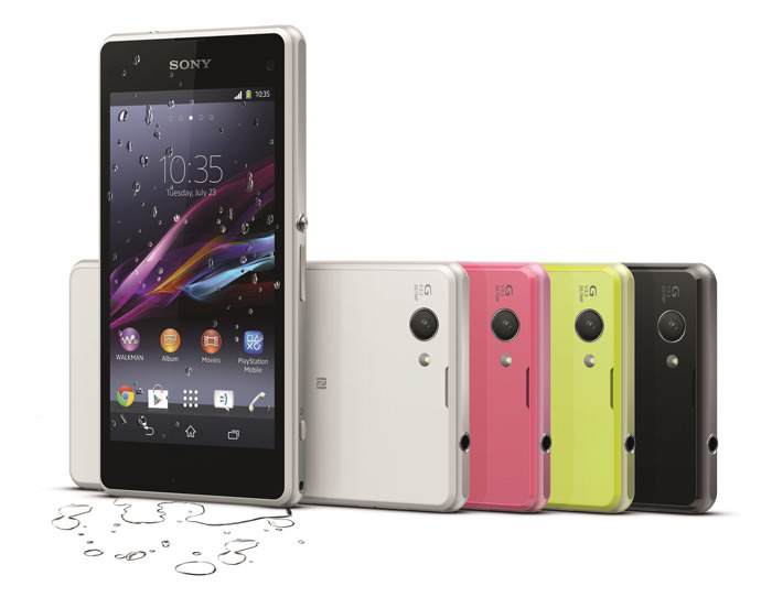 SonyMobile Xperia-Z1-Compact-GroupImage LowRes