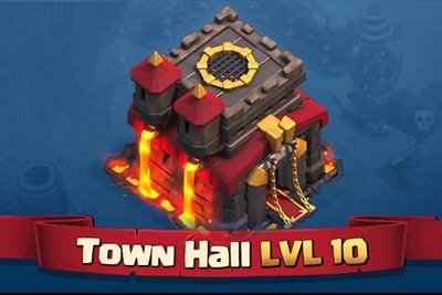 زومجی: آموزش Clash of Clans: تاون هال (Town Hall)
